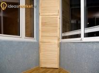 Балконы в жилой квартире на Тимирязевской