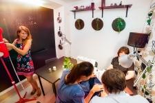 Учебный кабинет с грифельной стеной