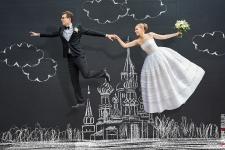 Идеальная свадьба и грифельные покрытия