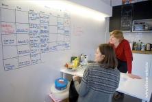 Маркерные покрытия в офисе Impact Hub Moscow
