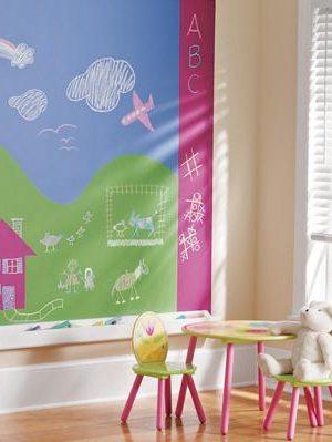 kids-chalkboard-paint-mural