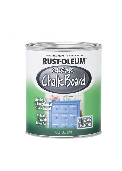 Прозрачная грифельная краска Rust-oleum