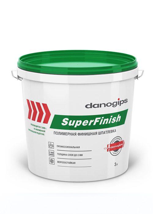 Danogips SuperFinish Универсальная готовая шпатлевка (3 л.)