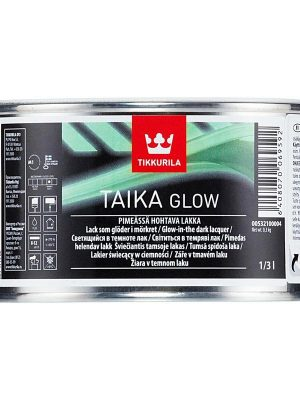 Tikkurila Taika Glow Светящийся в темноте матовый лак